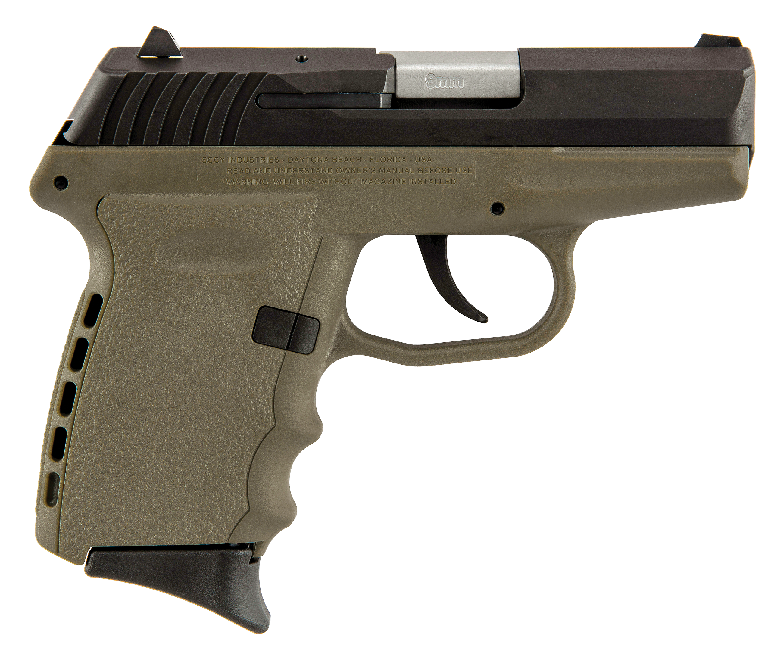 SCCY Industries CPX2CBDE CPX-2 Double 9mm 3.1