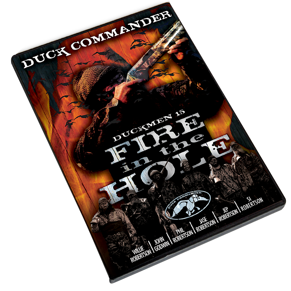 Duck Commander DD15 Duckmen 15 - Fire in the Hole DVD 70 Minutes 2011