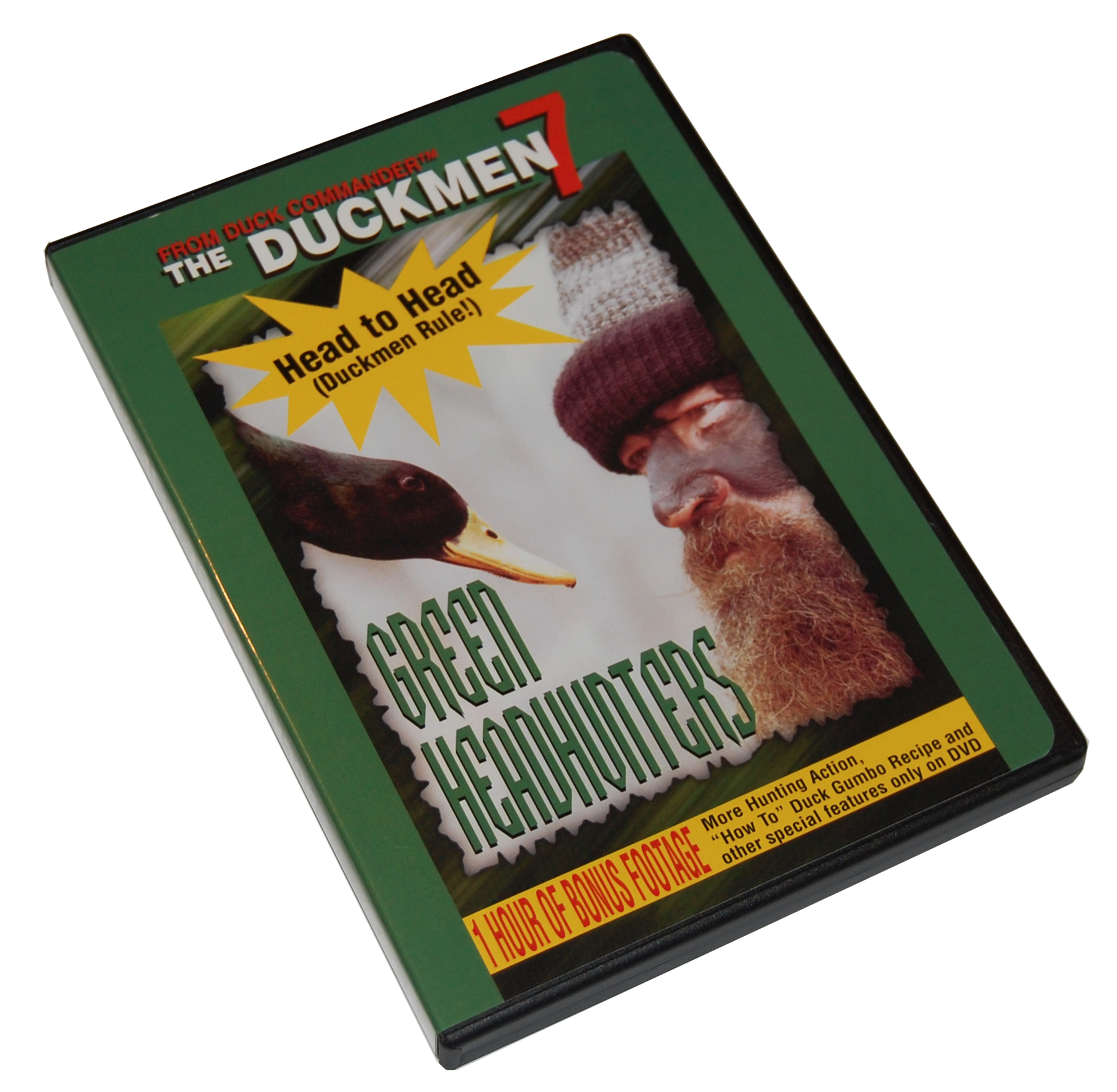 Duck Commander DD7 Duckmen 07 - Green Headhunters DVD