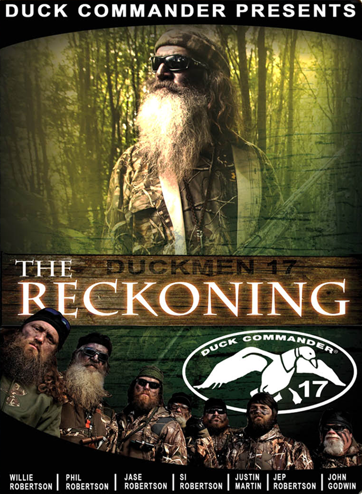 Duck Commander DD17 Duckmen 17 - The Reckoning DVD 60 Minutes 2013