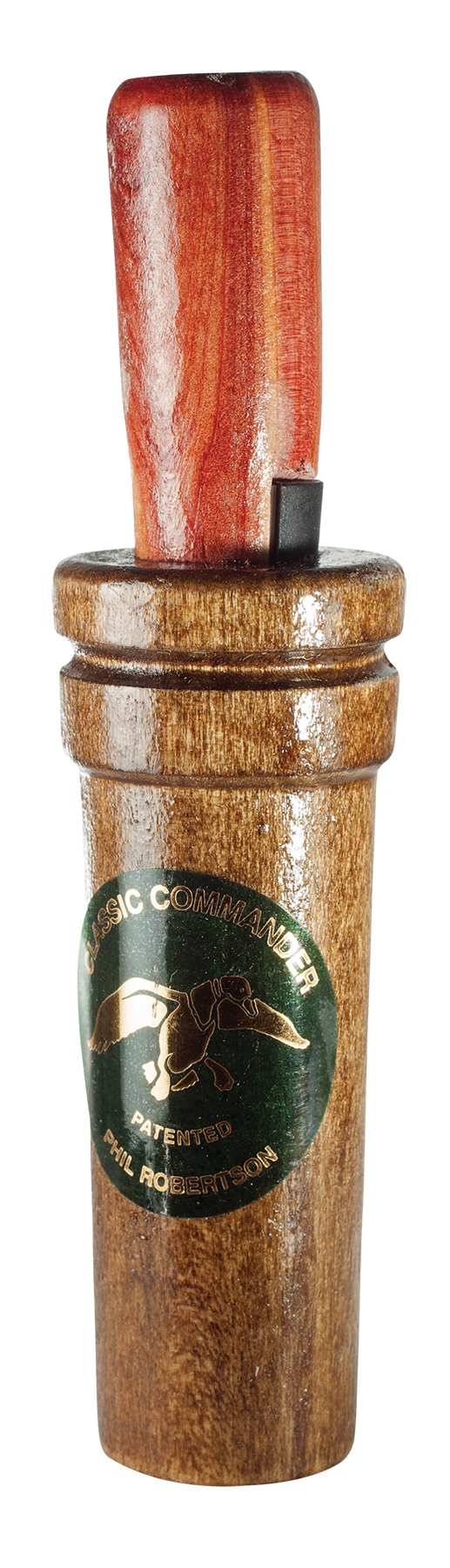 Duck Commander DC200 Classic Commander Duck Call Double Reed Wood Brown