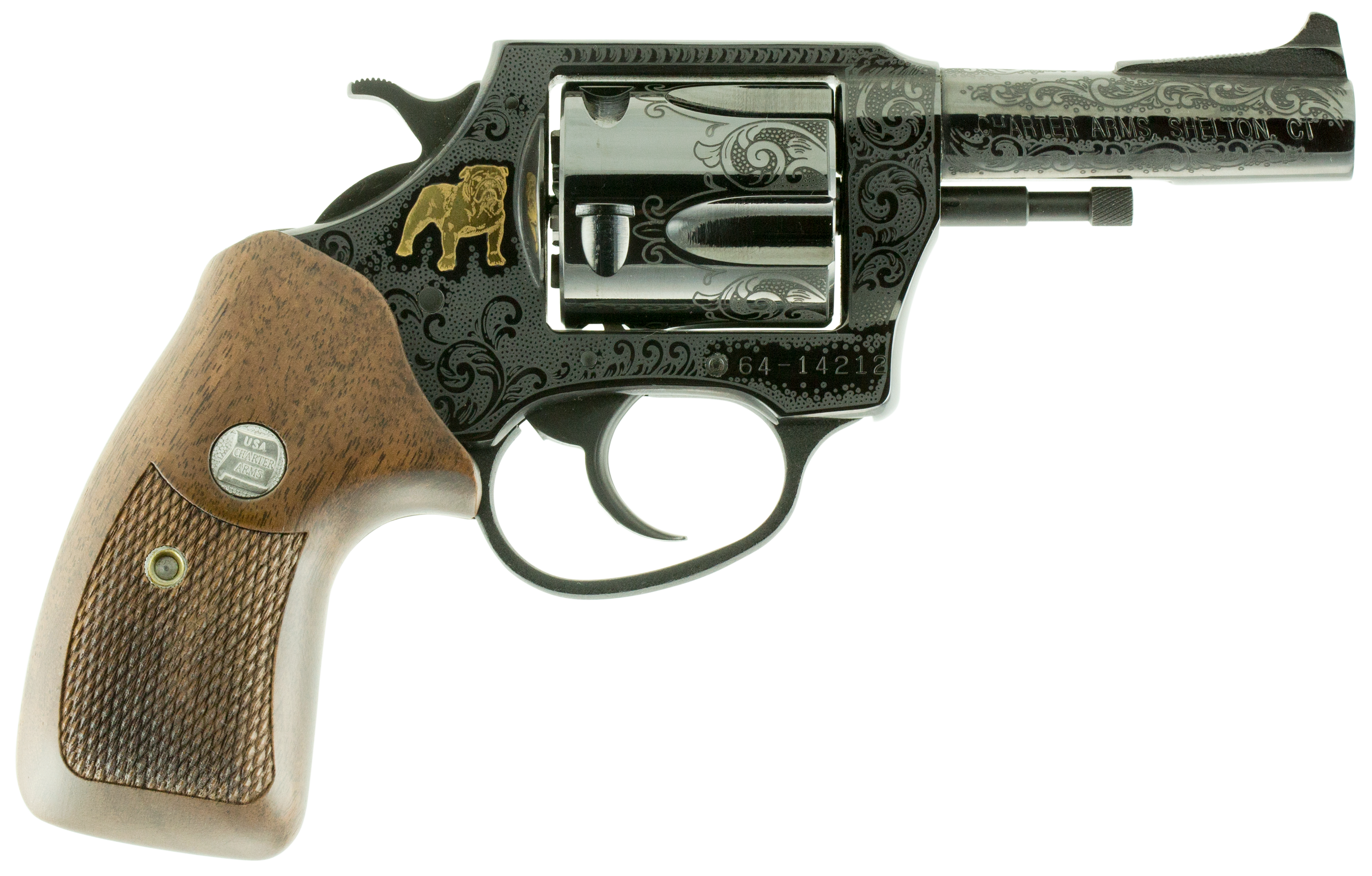 Charter Arms 34435-50 Bulldog 50th Anniversary Single 44 Special 3