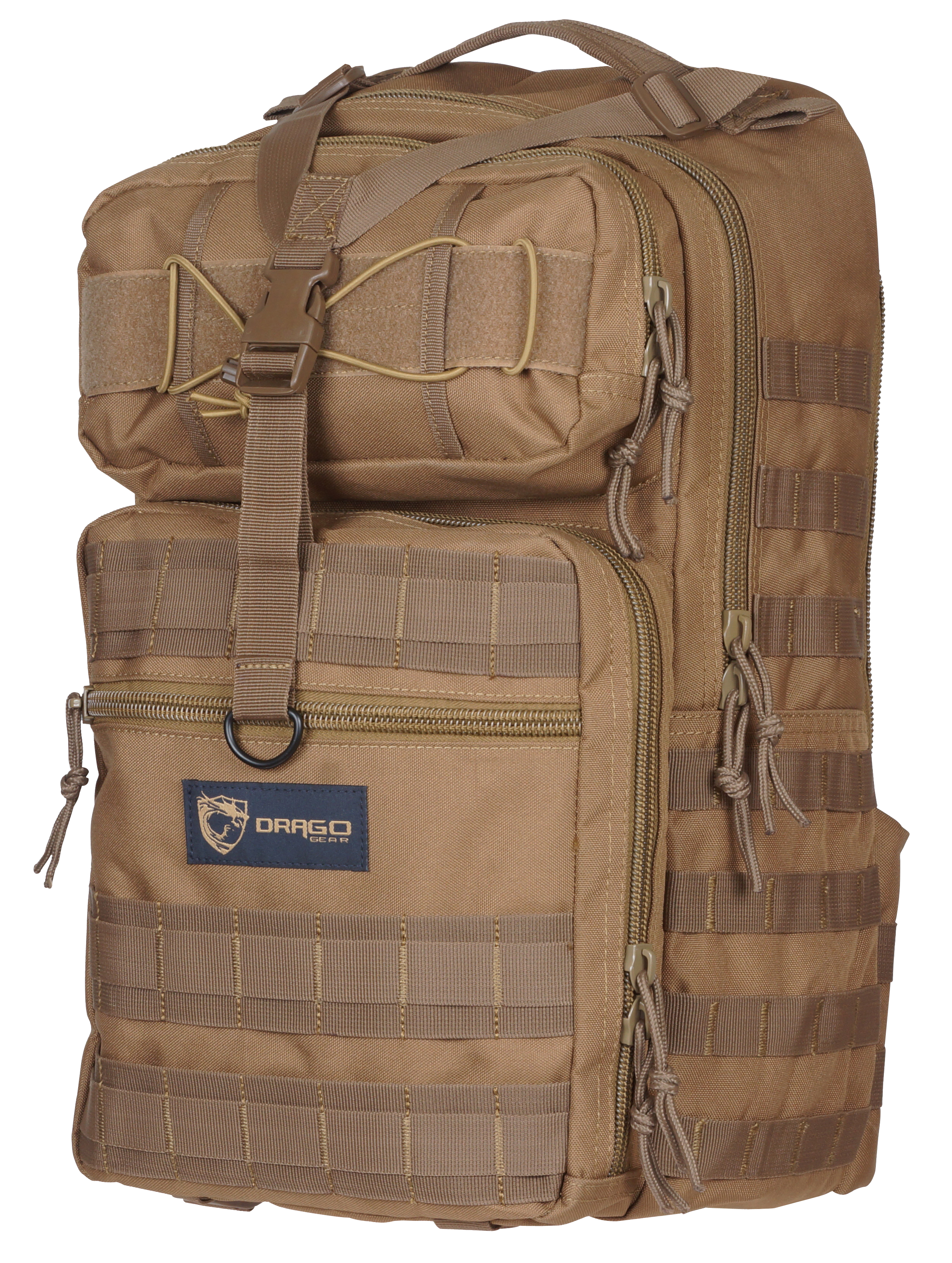 Drago 14308TN Atlus Sling Pack Backpack Tactical 600D Polyester 19
