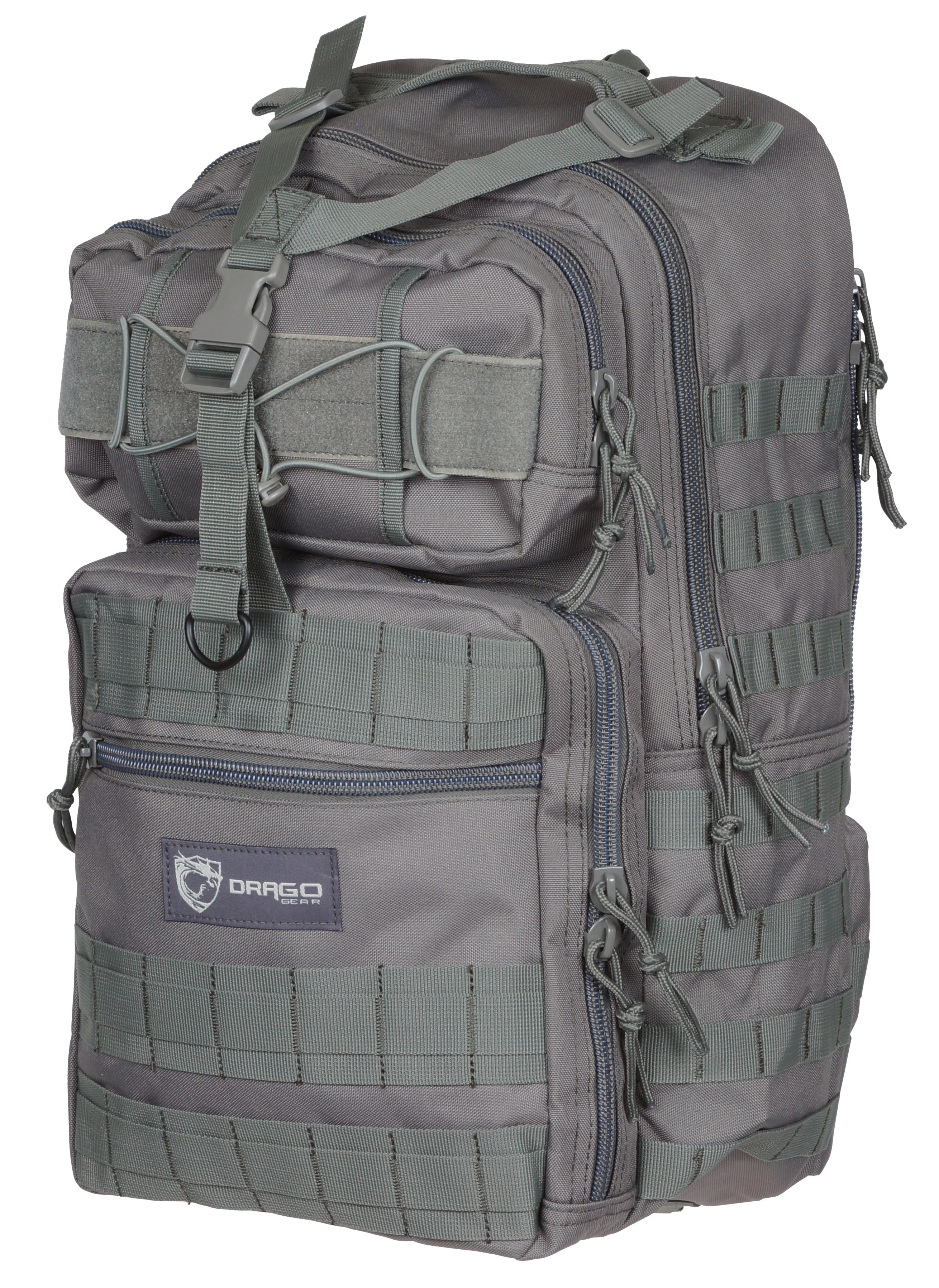 Drago 14308GY Atlus Sling Pack Backpack Tactical 600D Polyester 19