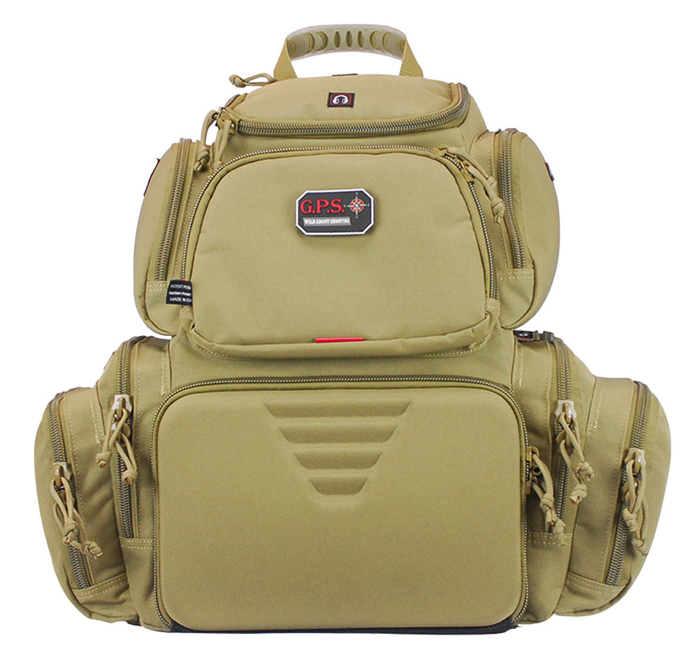 G*Outdoors 1711BPT Handgunner Tan Range Bag/Backpack