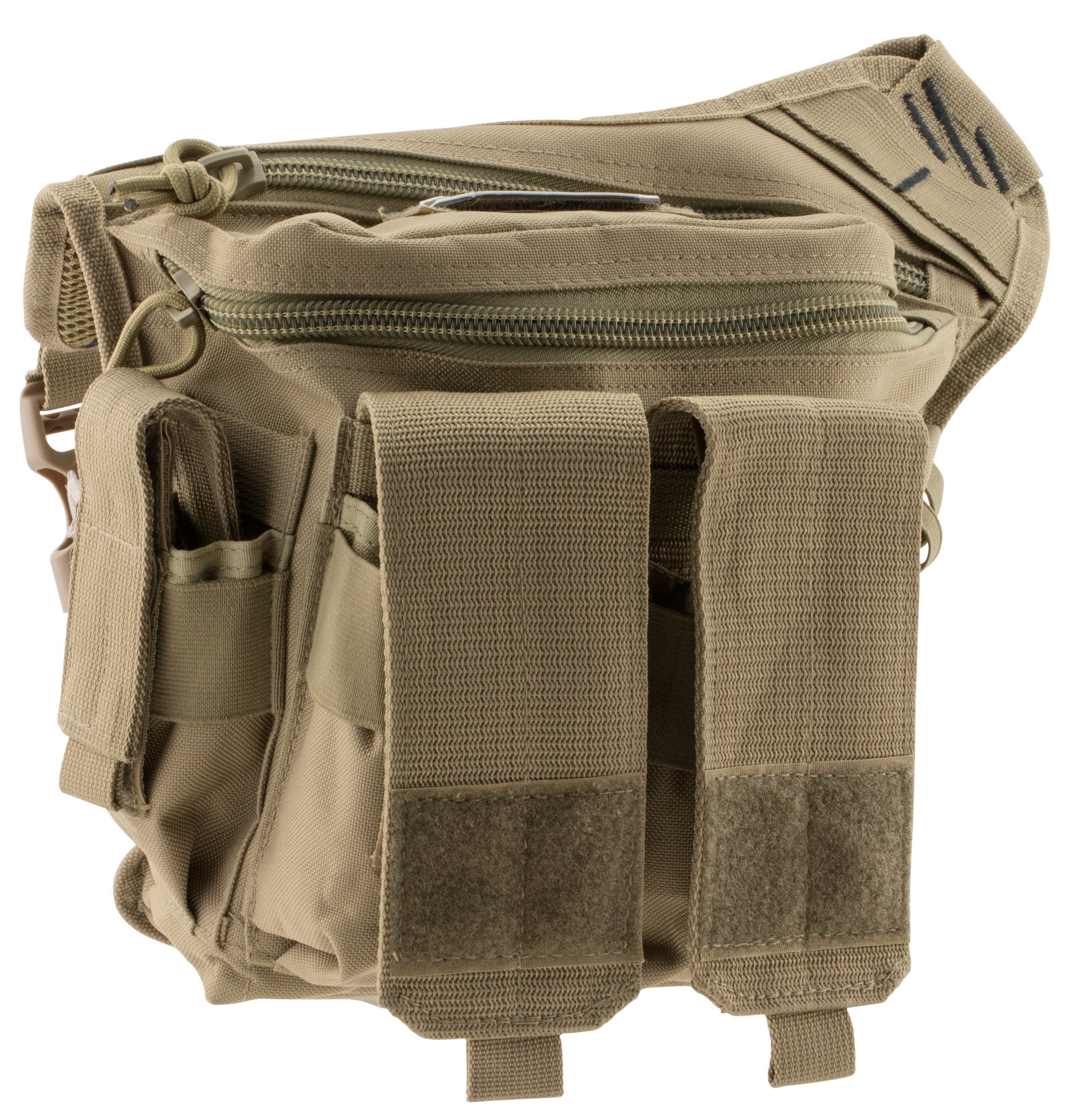 G*Outdoors 981RDP Rapid Deployment Pack Tan Range Bag/Messenger Bag 600D Polyester 10