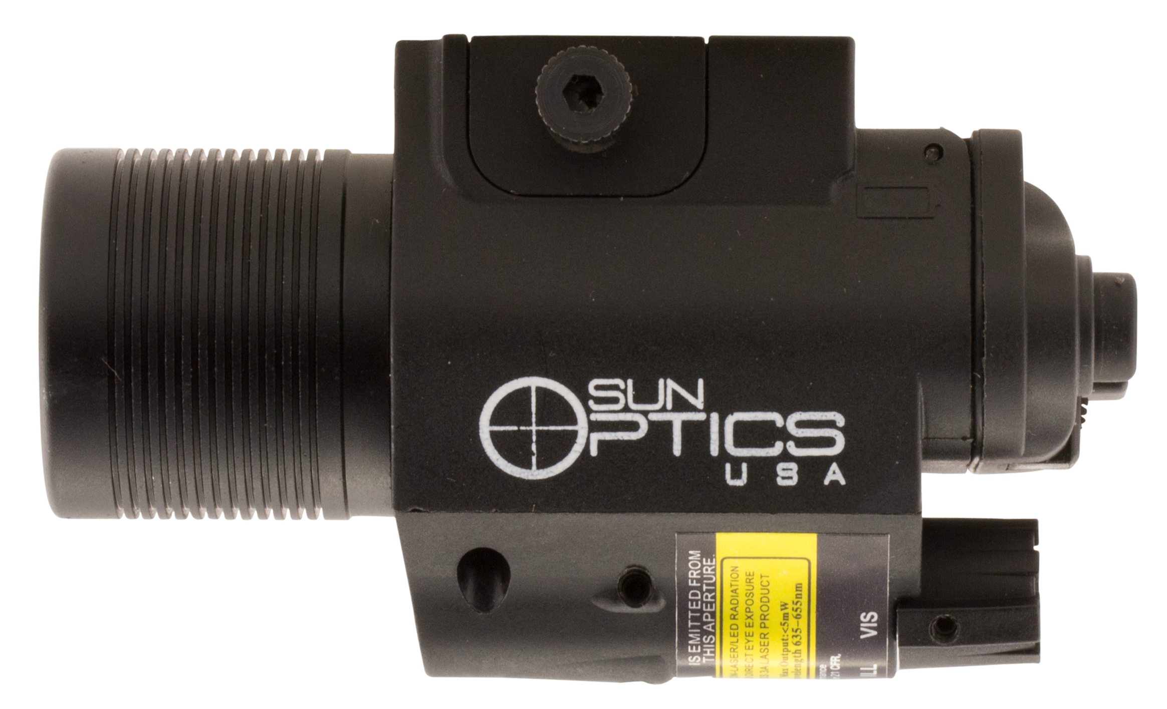 Sun Optics CLFCLR 750 Lumen Light/Laser Red Laser Any with Rail Picatinny or Similar Rails
