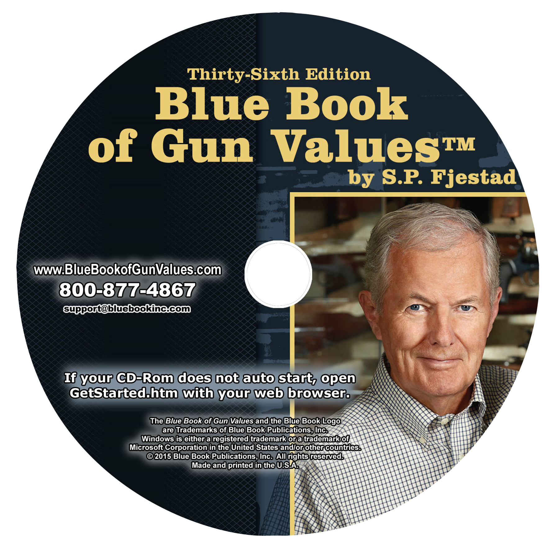 BLUE 36CD   36TH ED BLUE BOOK CDROM