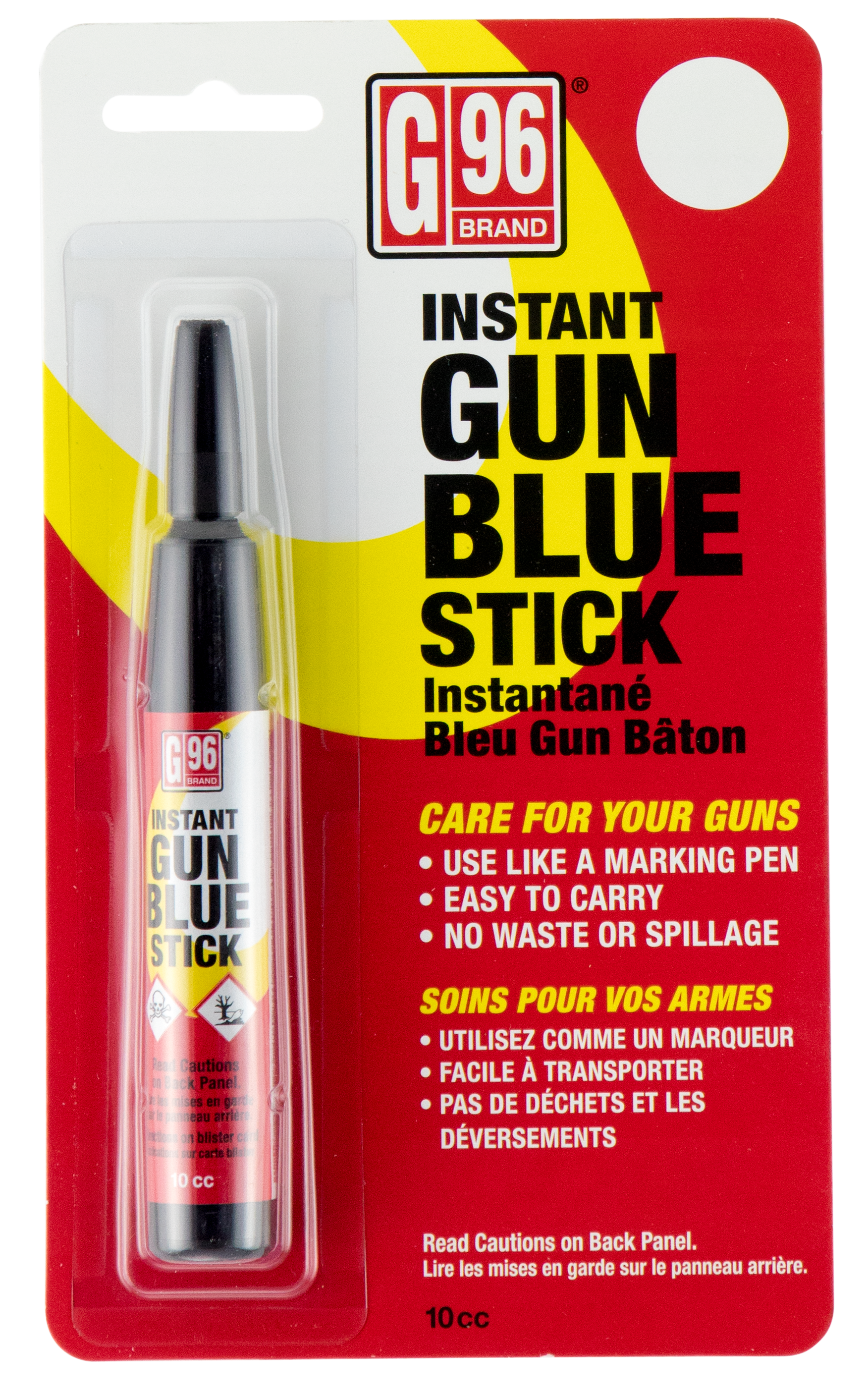 G96 1078 Gun Blue Instant Gun Blueing Pen .3 oz
