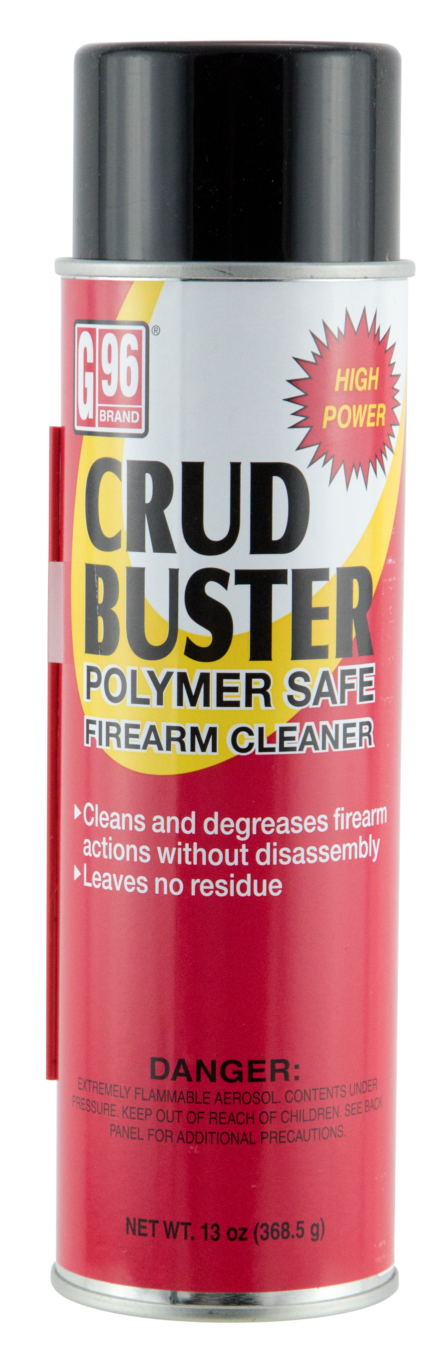G96 1202 Crud Buster Firearms Cleaner Aerosol Degreaser 13 oz