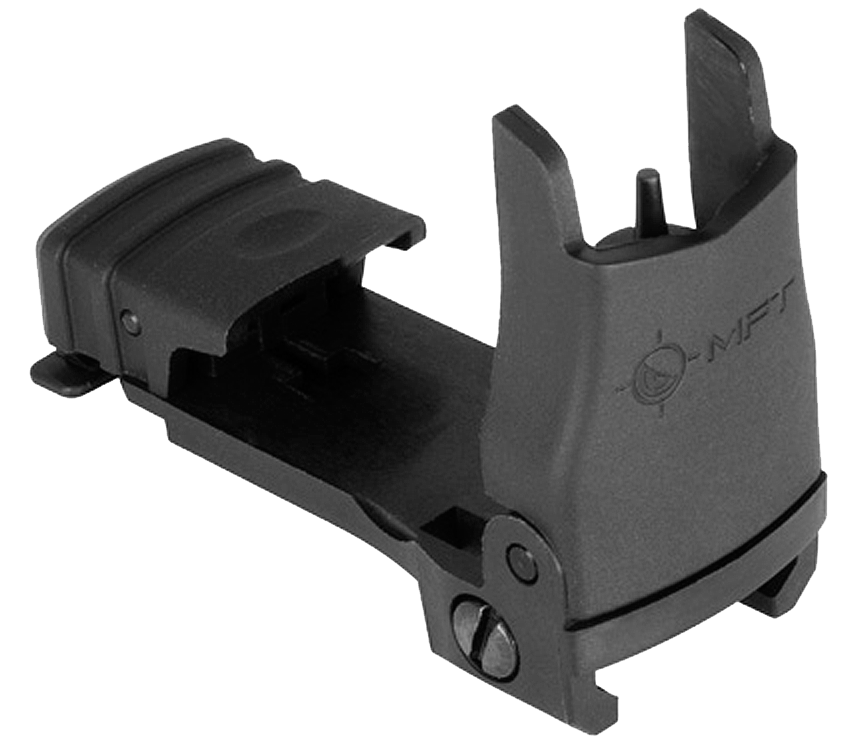 Mission First Tactical BUPSWF Flip Up Front Sight .25 MOA Elevation Picatinny Rail Mount Polymer Black