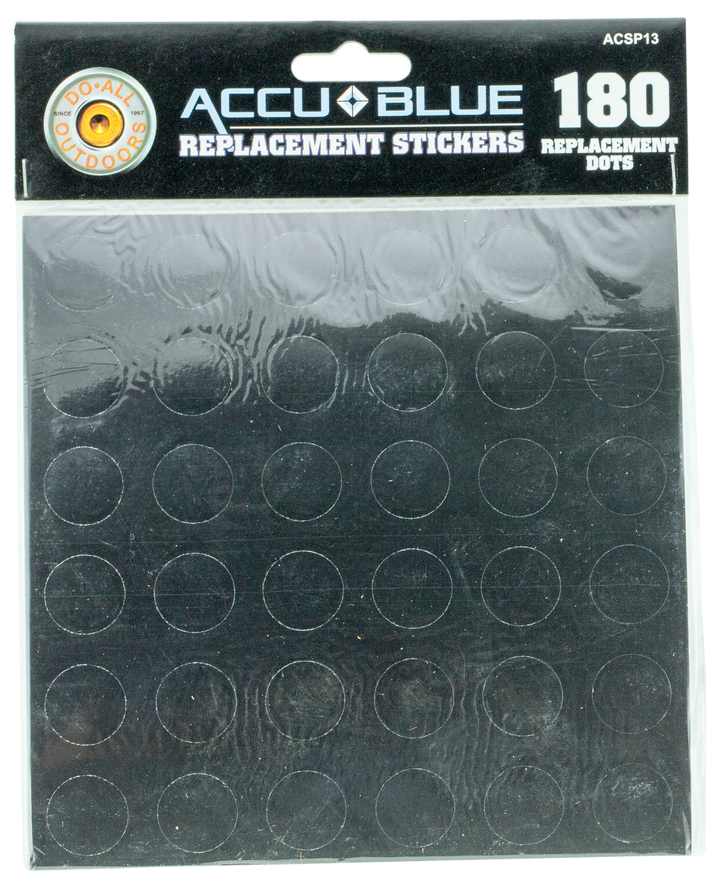 Do All Traps ACSP13 Accu Blue Splatter Target Dots 36 Per Page, 5 Pages
