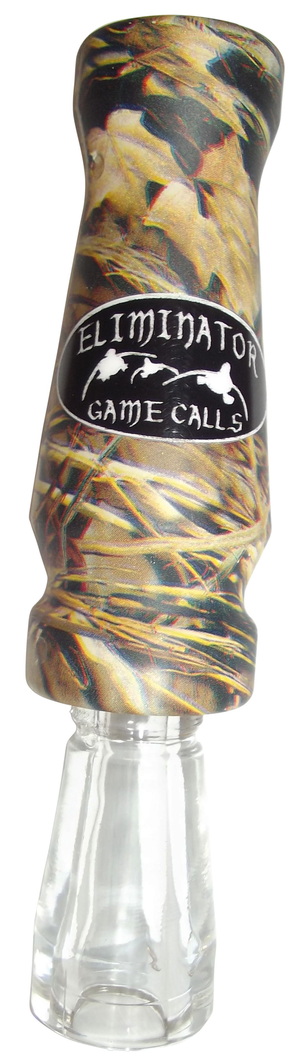 Eliminator Calls Green Head Assassin Double Reed Duck Call Camo
