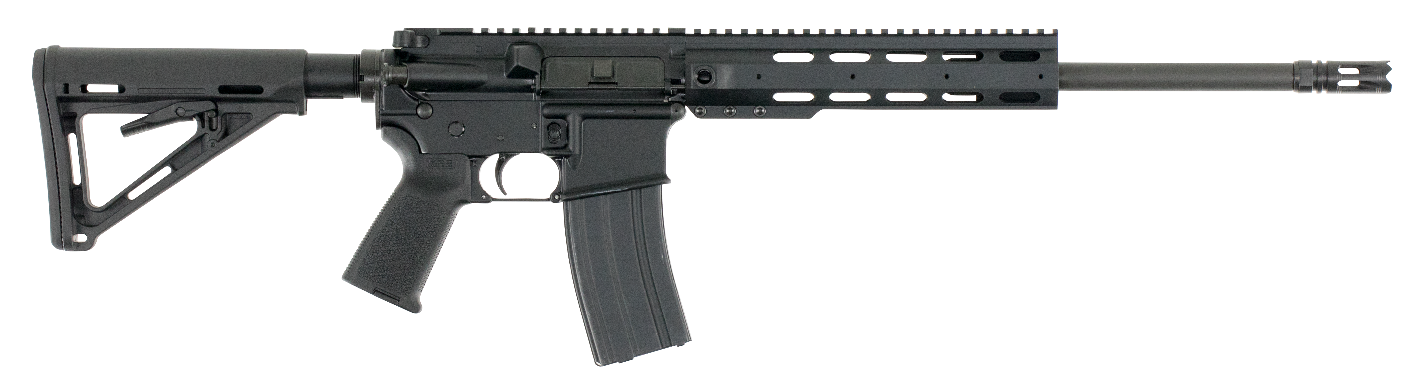 Anderson 77161 AM15 Blackout RF85 Semi-Automatic 300 AAC Blackout/Whisper (7.62x35mm) 16