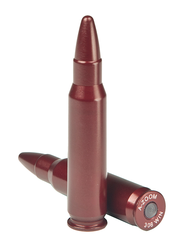 A-Zoom 12228 Snap Caps Rifle 308 Winchester Aluminum 2 Pack