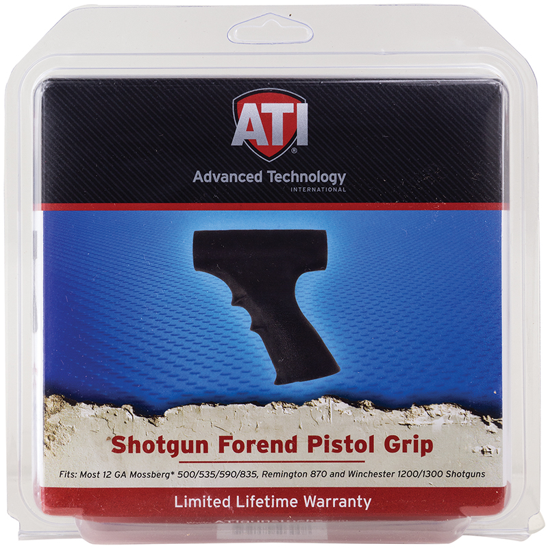 Advanced Technology SFP0300  Shotgun Forend Pistol Grip Synthetic Black