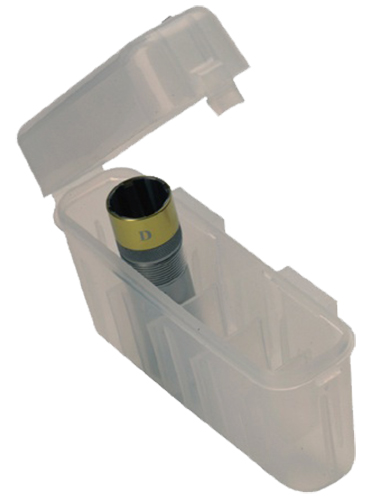 Briley 00378 All Choke Box with Belt Clip Holds 5 Plastic Clear