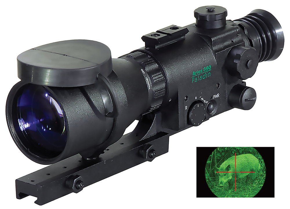 ATN NVWSM39010 Paladin Scope 1+ Gen 4x 90mm 12 Degrees FOV 3v Lithium