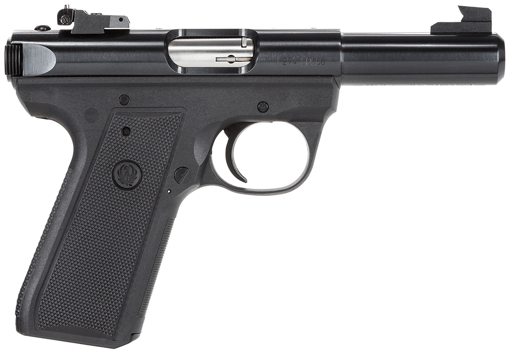 RUGER MKIII 22LR BLUE AS 4.5 IN