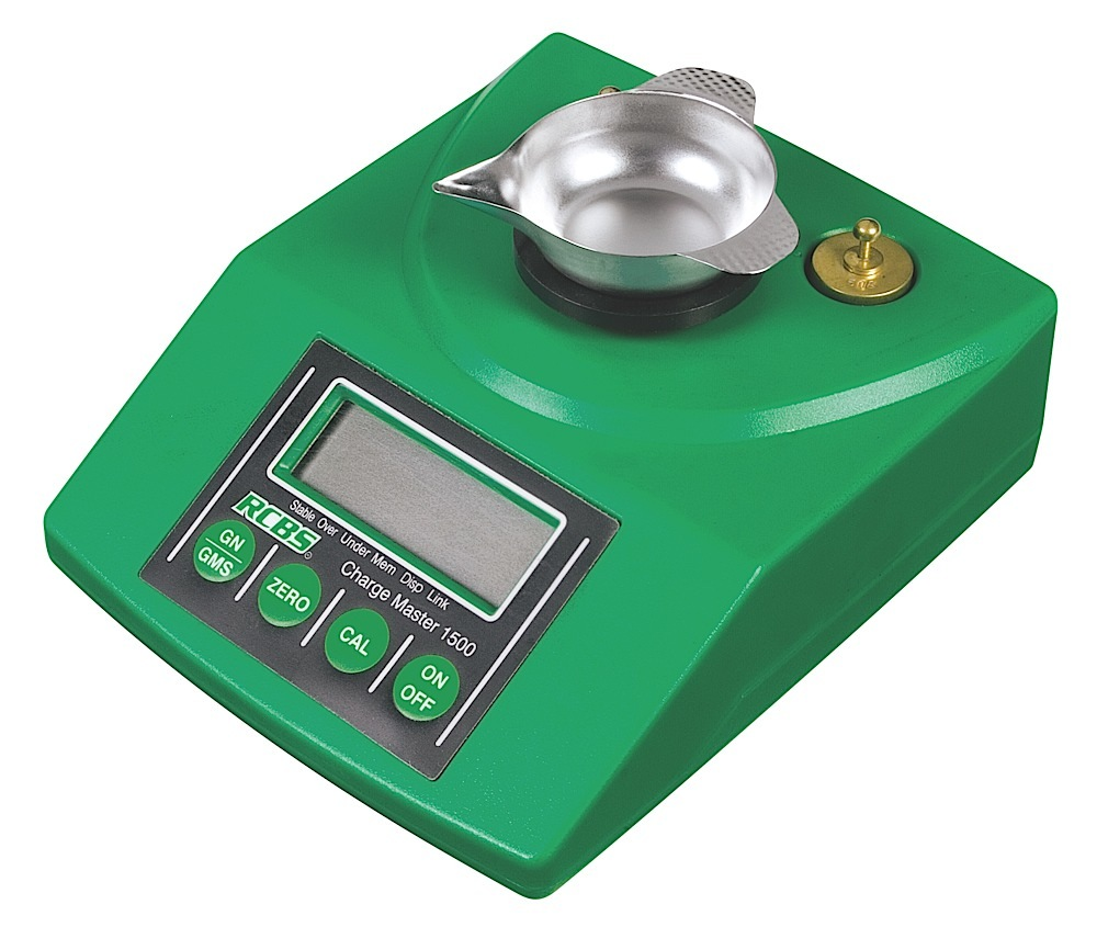 RCBS 98920  ChargeMaster 1500 Electronic Scale Capacity 1500 GR