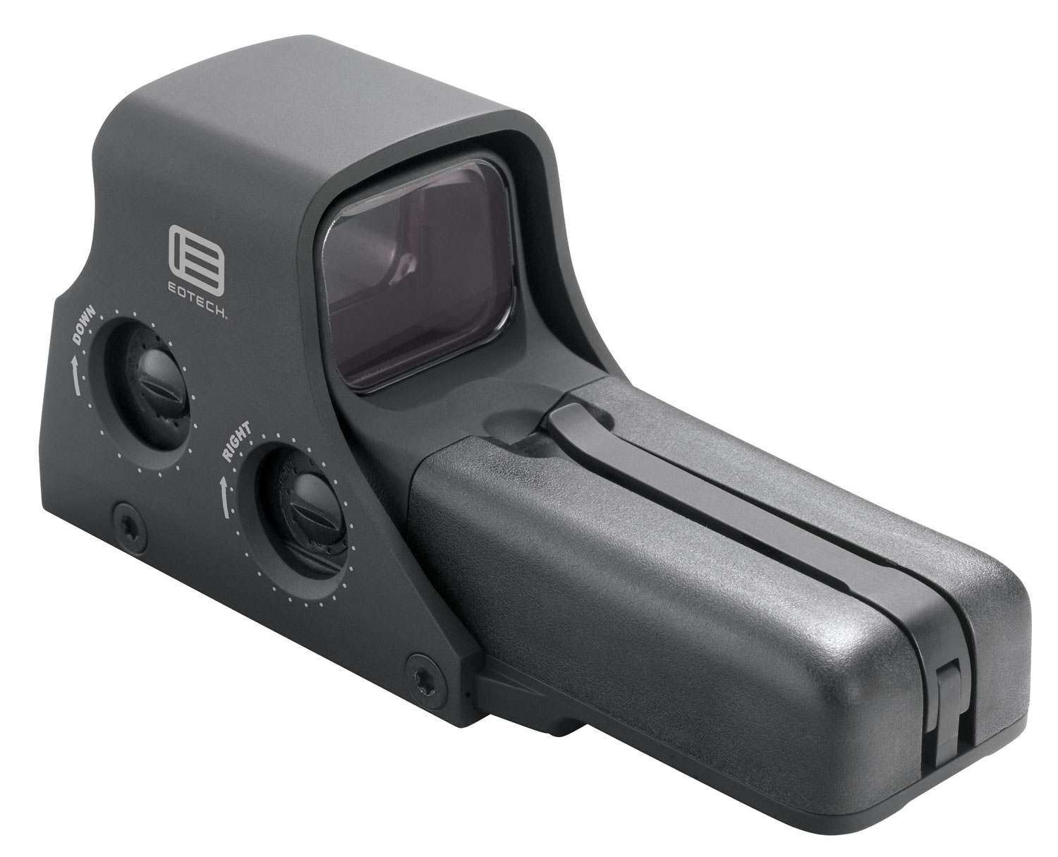 "Eotech 512A65 65/1 1x 1.2""x0.85"" Obj Unlimited Eye Relief 1 MOA Dot Black"