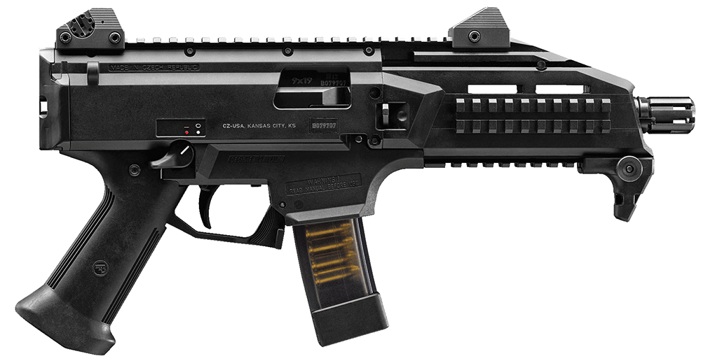 CZ 01350 SCORPION EVO3 S1 9MM  10RD