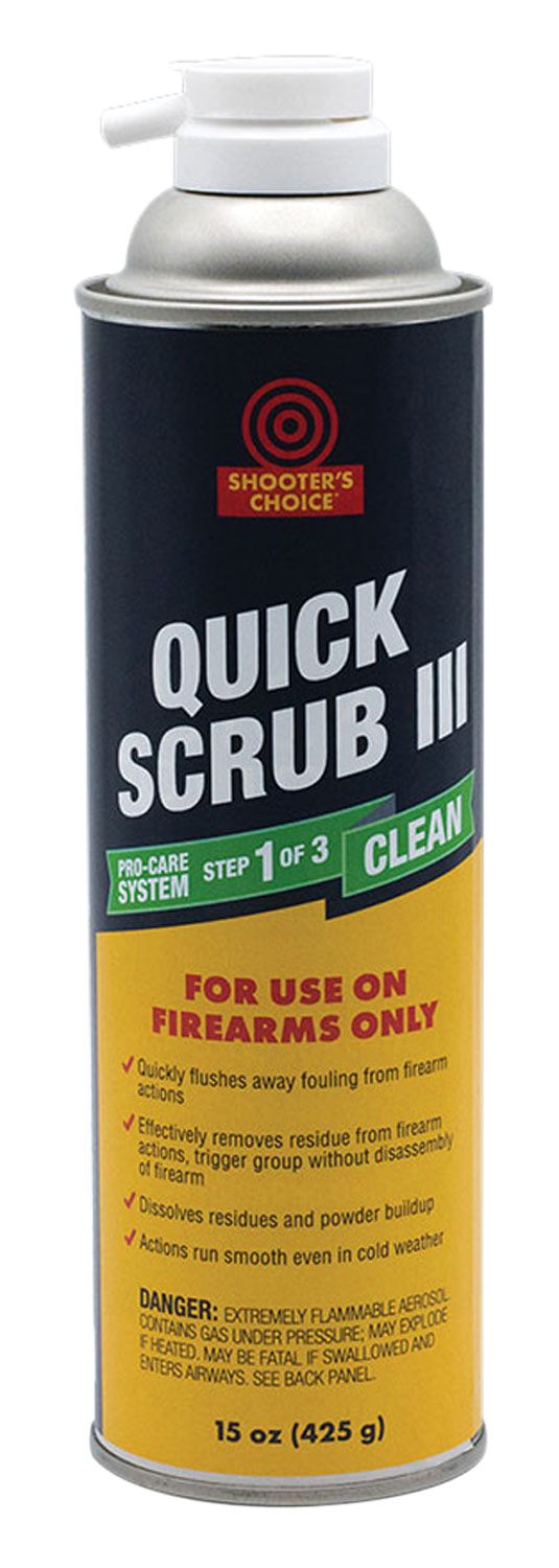 Shooters Choice DG315 QUICK SCRUB III Quick Scrub III Cleaner/Degreaser 15 oz