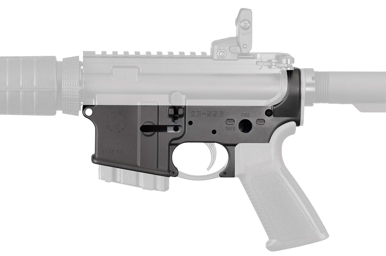 RUGER 8506 AR15 STRIPPED LOWER RECEIVER