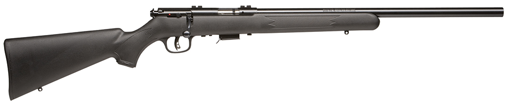 "Savage 96700 93R17F Bolt 17 HMR 21"" 5+1 Blk Syn Stk Blued"