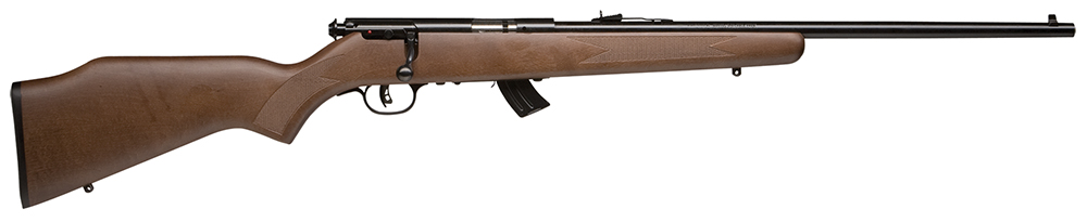 "Savage 20700 MKIIG Bolt 22 Long Rifle 20.75"" Hardwood Blued"