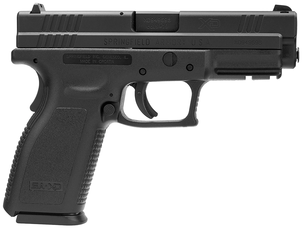 SPRINGFIELD XD 9MM 4IN BLK