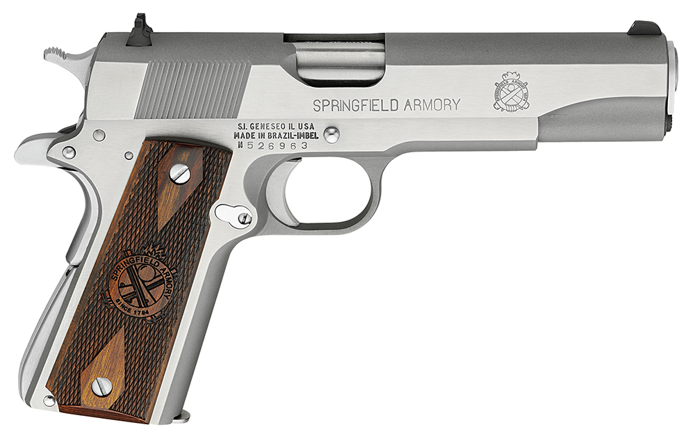 SPRINGFIELD 1911-A1 45ACP MIL-SPEC STS PACKAGE