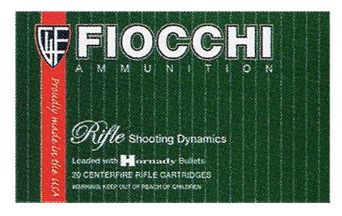 Fiocchi 223B Rifle Shooting 223 Remington/5.56 Nato PSP 55 GR 20Box/10Case