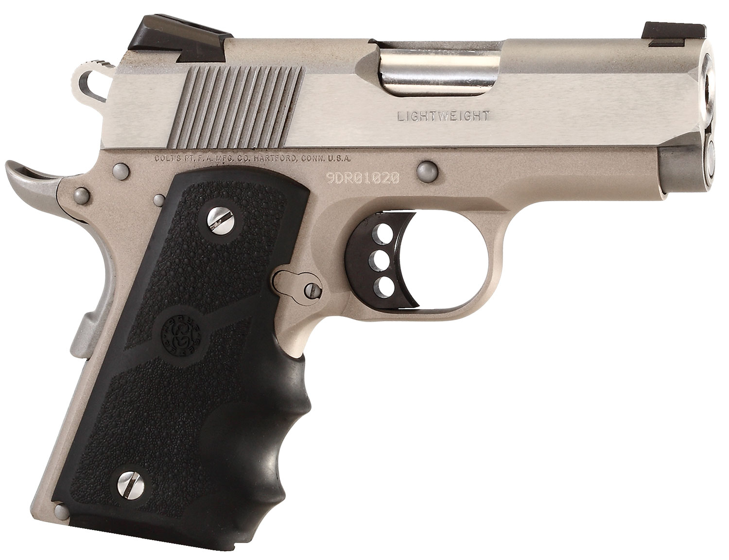 "COLT DEFENDER 45ACP 3"" NICKEL/STAINLESS"