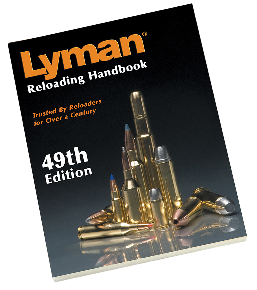 Lyman 9816049 Pistol/Rifle Reloading Manual 49th Edition Softcover
