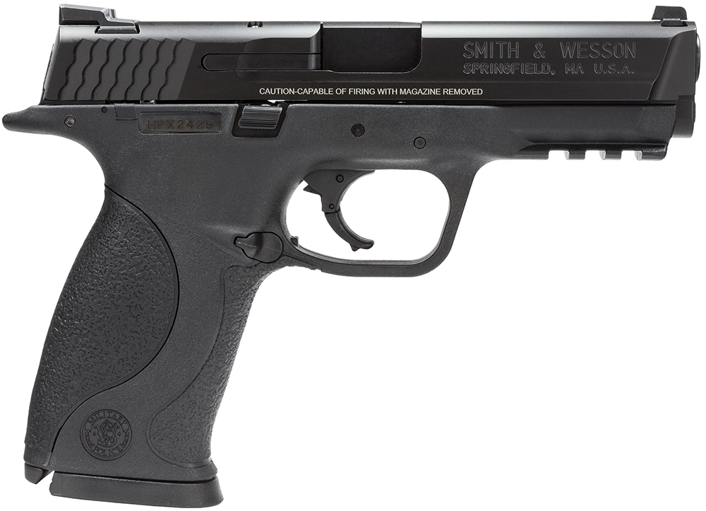 "S&W 109301 M&P Full-Size 9mm 4.25"" 10+1 Syn Grip Black Finish"