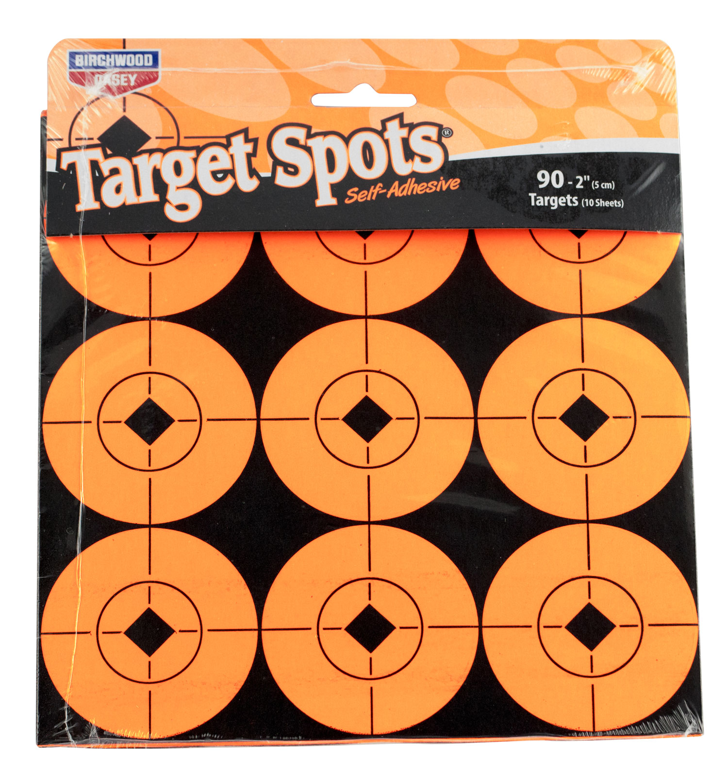 "Birchwood Casey 33902 Target Spots Self-Sticking 36-2""/72-1"""