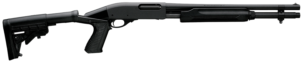 Remington 81180 870 Pump 20ga 18″ 3″ 6+1 Blk Syn Adj Stk Blk