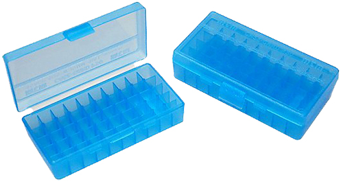 MTM P504524 Flip Top Handgun Ammo Box P-50 Series