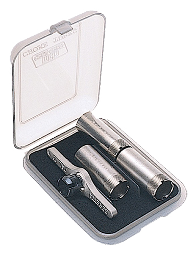 MTM CT341 Small Choke Tube Case 3 Extended Clear Smoke Poly