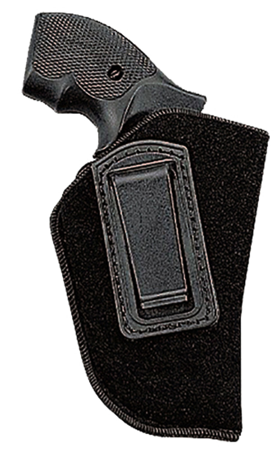 Uncle Mikes 8910 Inside the Pants Holster 8910-1 10-1 Black Soft Suede/Laminated