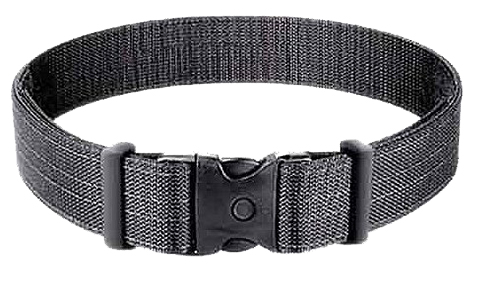 Uncle Mikes 8823 Deluxe Duty Belt 8823-1 Fits Waists 26″-32″ Black Nylon