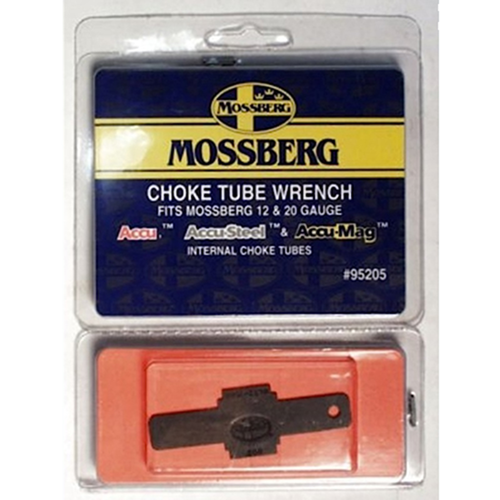 Mossberg 95205 ACCU Wrench Choke 10, 12, 16 &  20 GA ALL Black