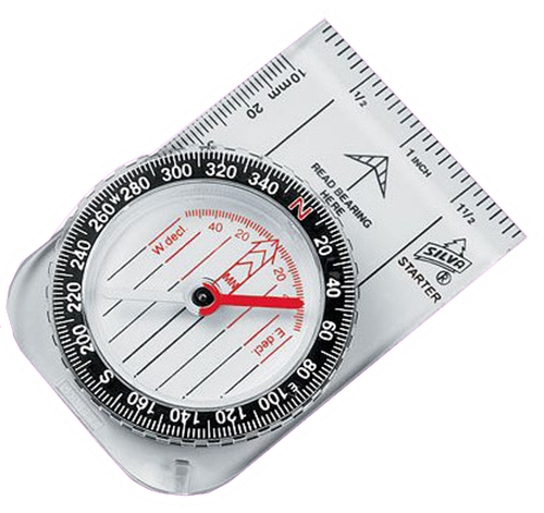Silva 2801290 Starter Compass Black/Clear