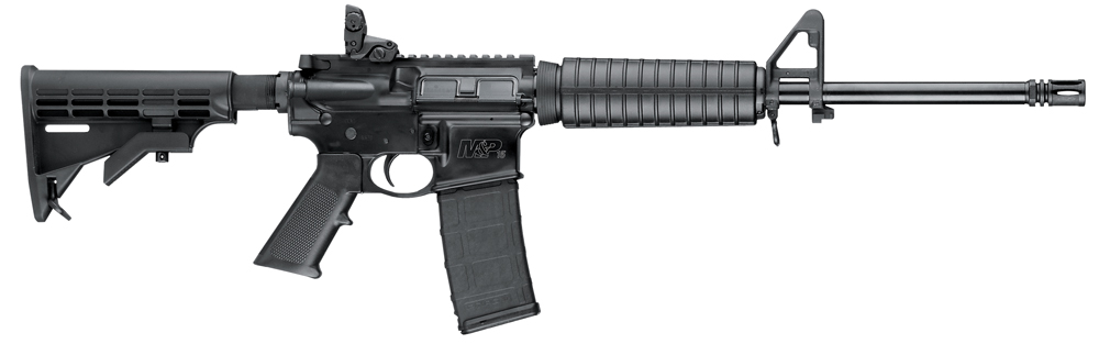 "Smith & Wesson 10202 M&P 15 Sport II SA 223 Rem/5.56 NATO 16"" 30+1 6-Pos Blk Stk Matte"