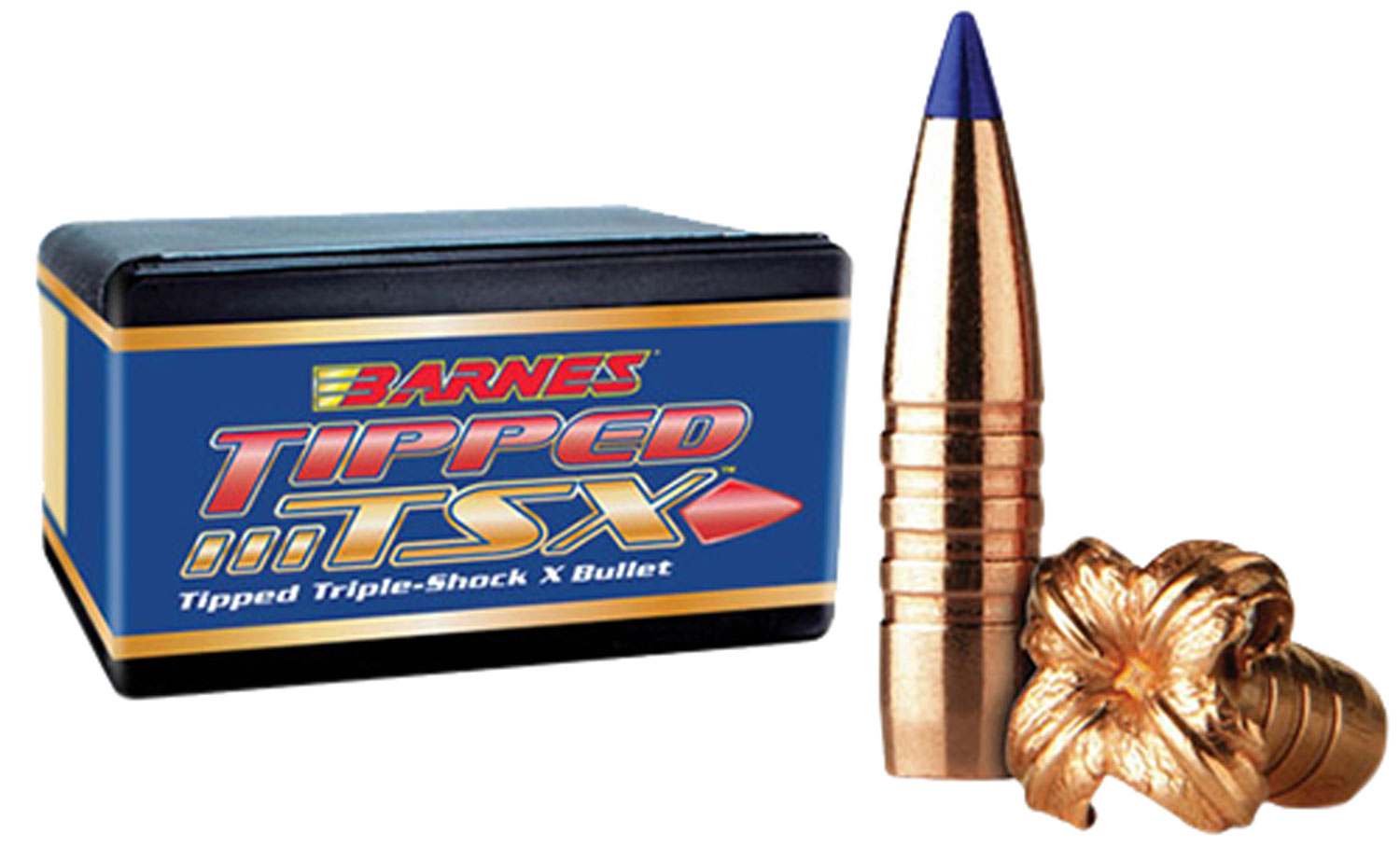 Barnes 26428 Triple-Shock X .264 100 GR 50 Per Box