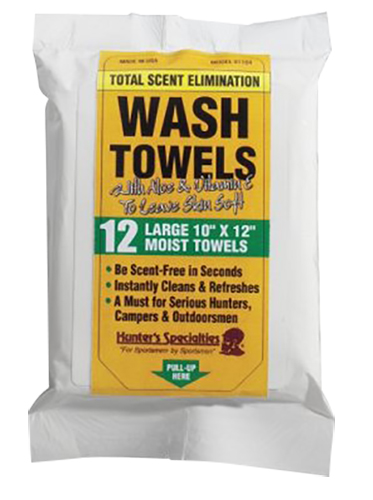 Hunters Specialties 01197 Scent-A-Way Wash Towels