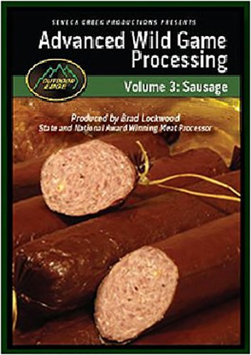 Outdoor Edge SP101 Sausage Making DVD Sausage Making DVD