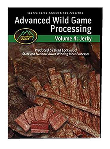 Outdoor Edge JP101 Jerky Making DVD Jerky Making DVD