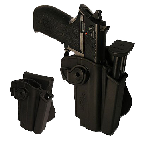 SIGTac HOLMOSIMPBLK 8500158  Holster/Mag Pouch Mosquito Black Polymer